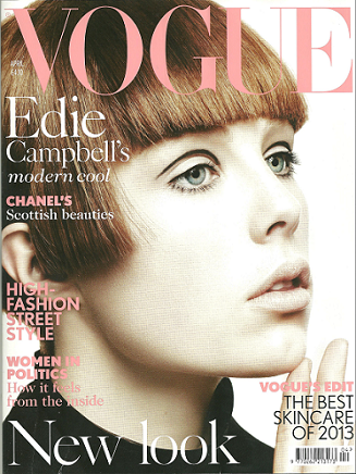 Vogue cover april 2013